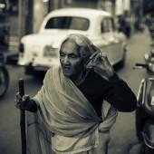 Caminando en India
