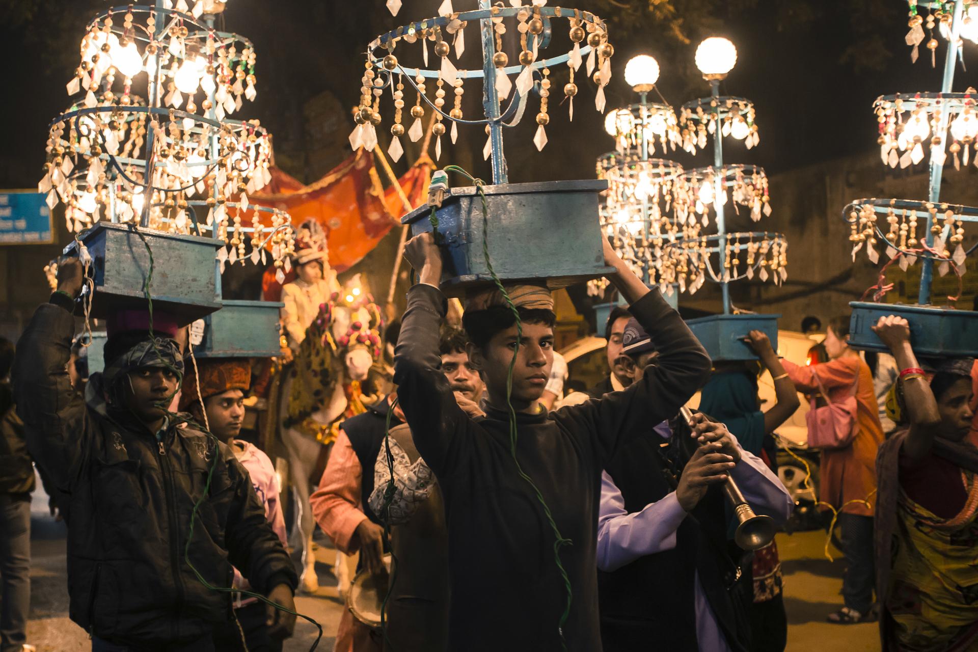 Varanasi street lights